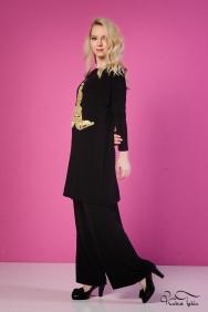 Vania Siyah Gold Takım