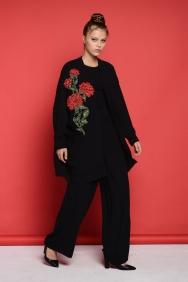 Kyla Siyah Rose Takım
