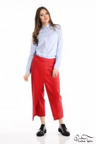 Kırmızı Pantolon Etek