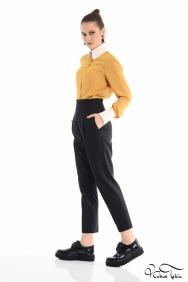 Apothke Siyah Pantolon