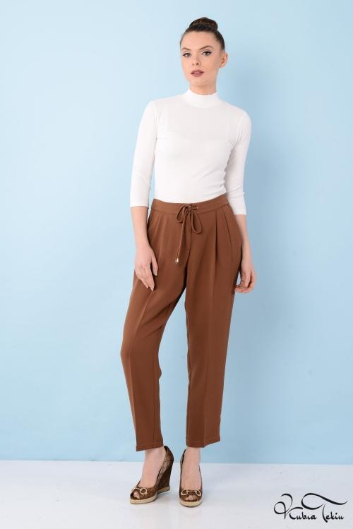 Eniko Kahverengi Pantolon